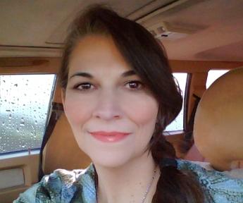 EGJ in the Car in Rain