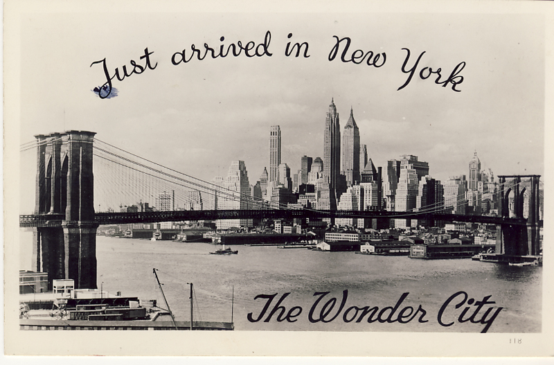 Wonder City postcard