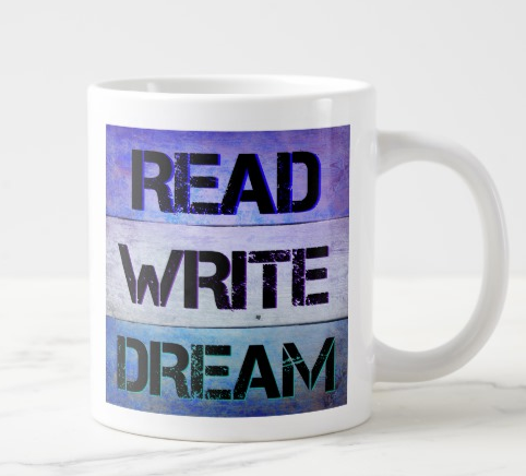 Read, Write, Dream_Mug